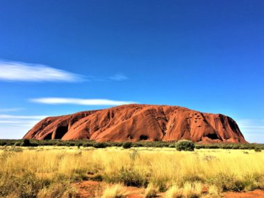 Ayers Rock im Uluru-Kata Tjuta National Park in Australien