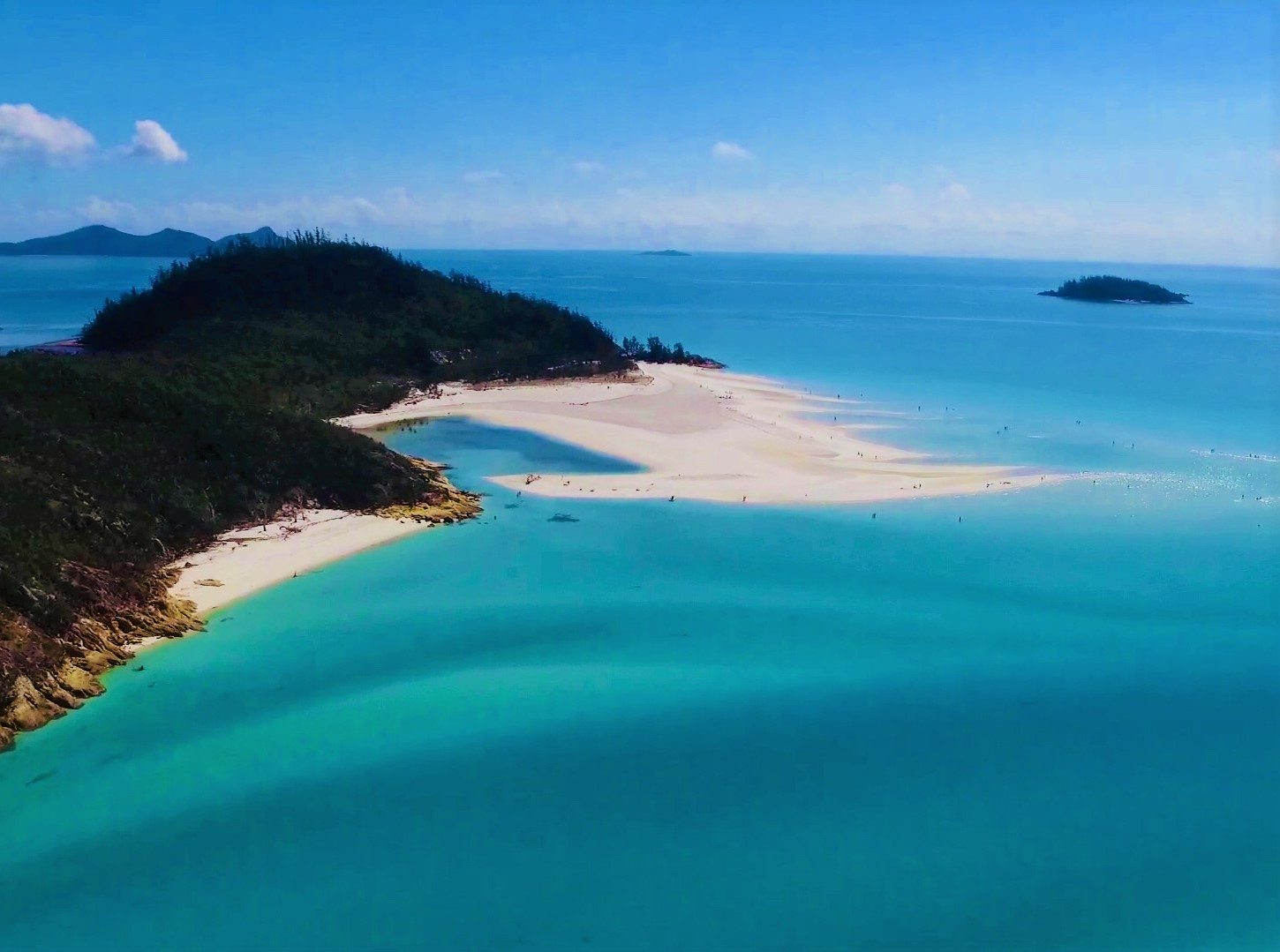 Whitsundays Islands in Australien - Whitehaven Beach