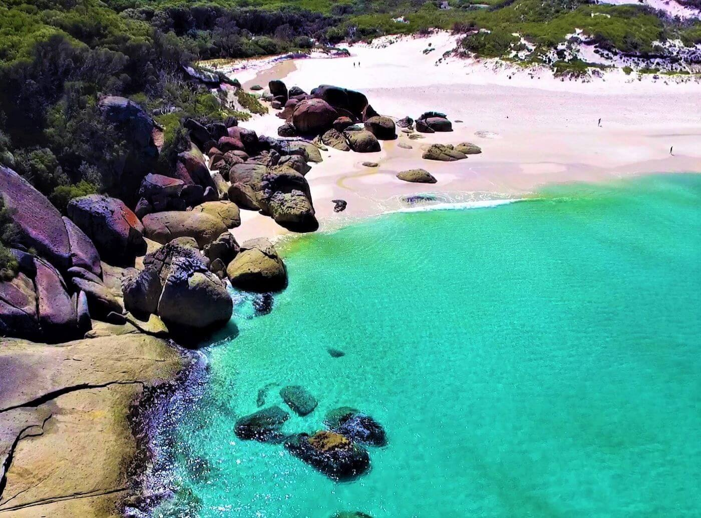 Wilsons Promontory National Park in Australien - Squeaky Beach
