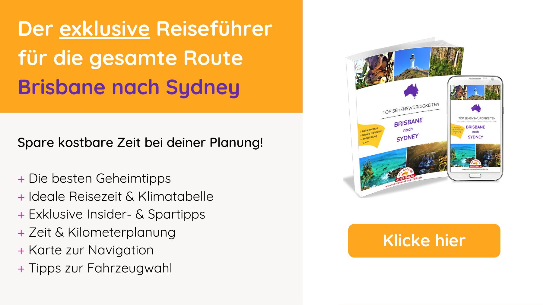 Reiseführer Brisbane nach Sydney