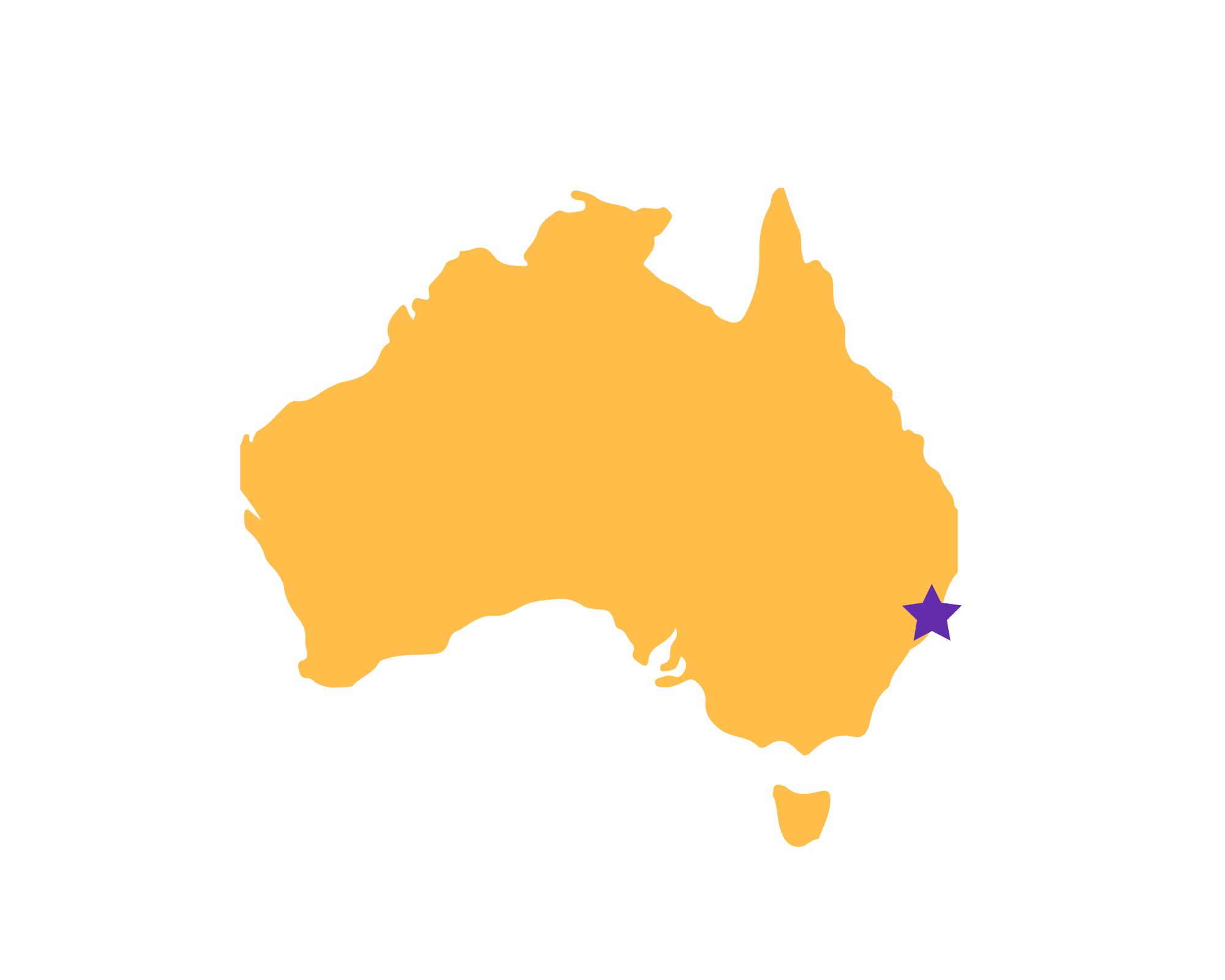 Karte Port Macquarie