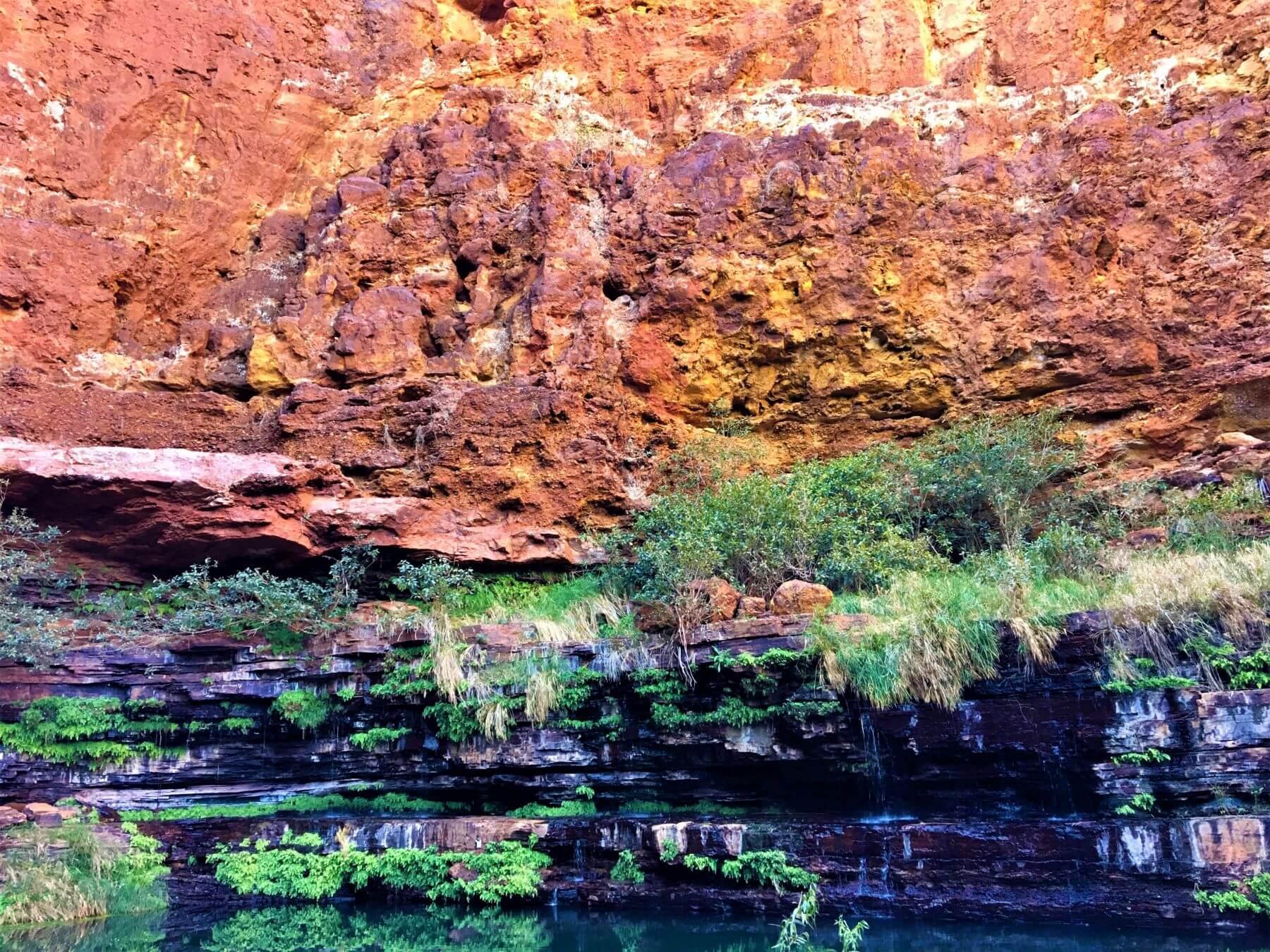 Schöne Dales Gorge im Karijini National Park in Australien