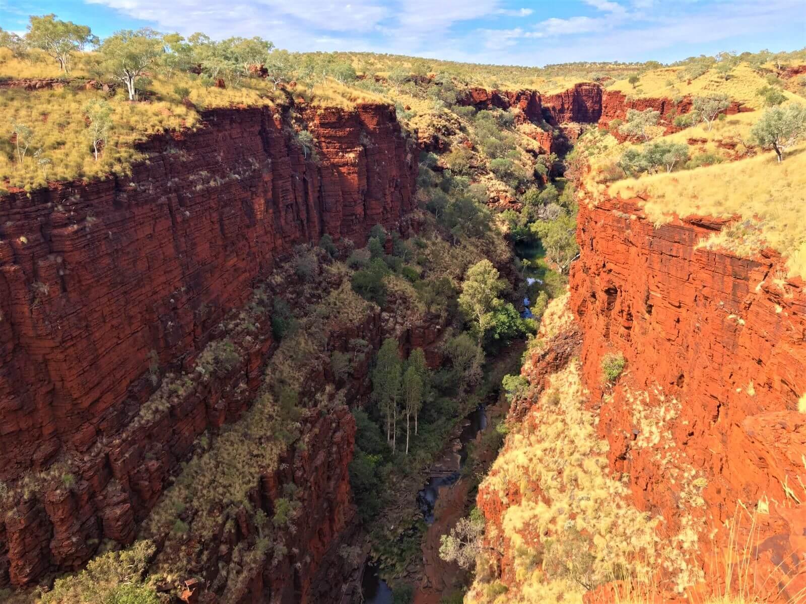 Schlucht in Australien - Knox Gorge