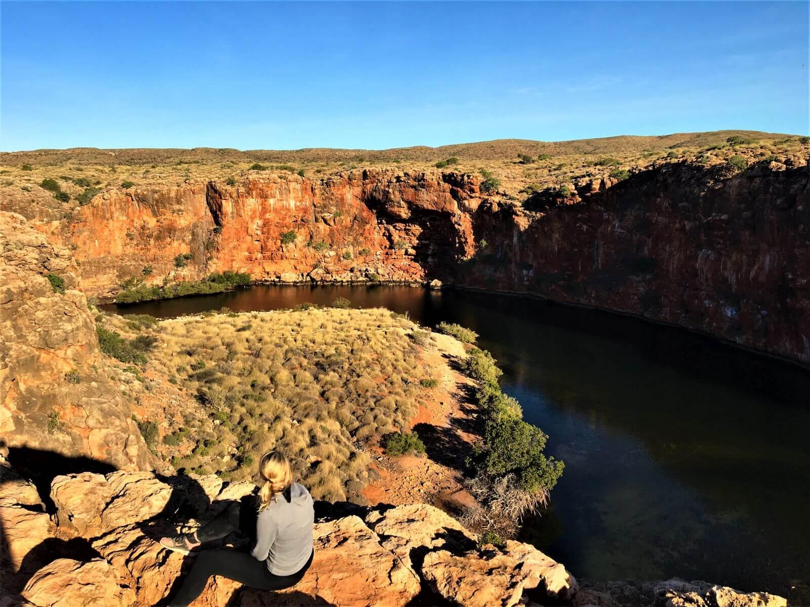 Schlucht im Cape Range National Park - Australien