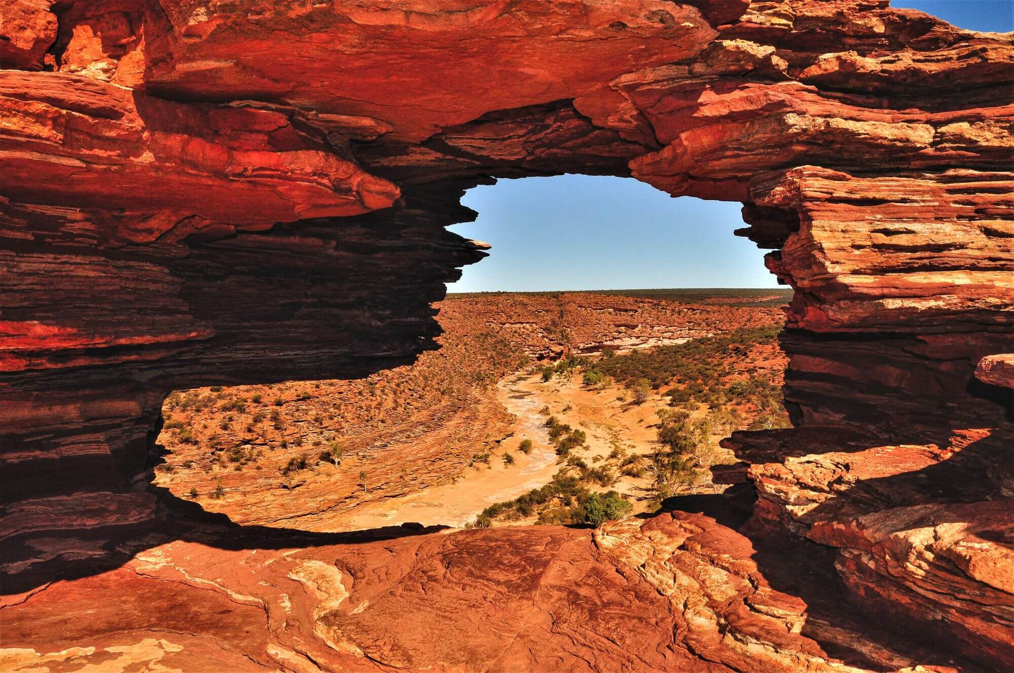 Natures Window im Kalbarri National Park