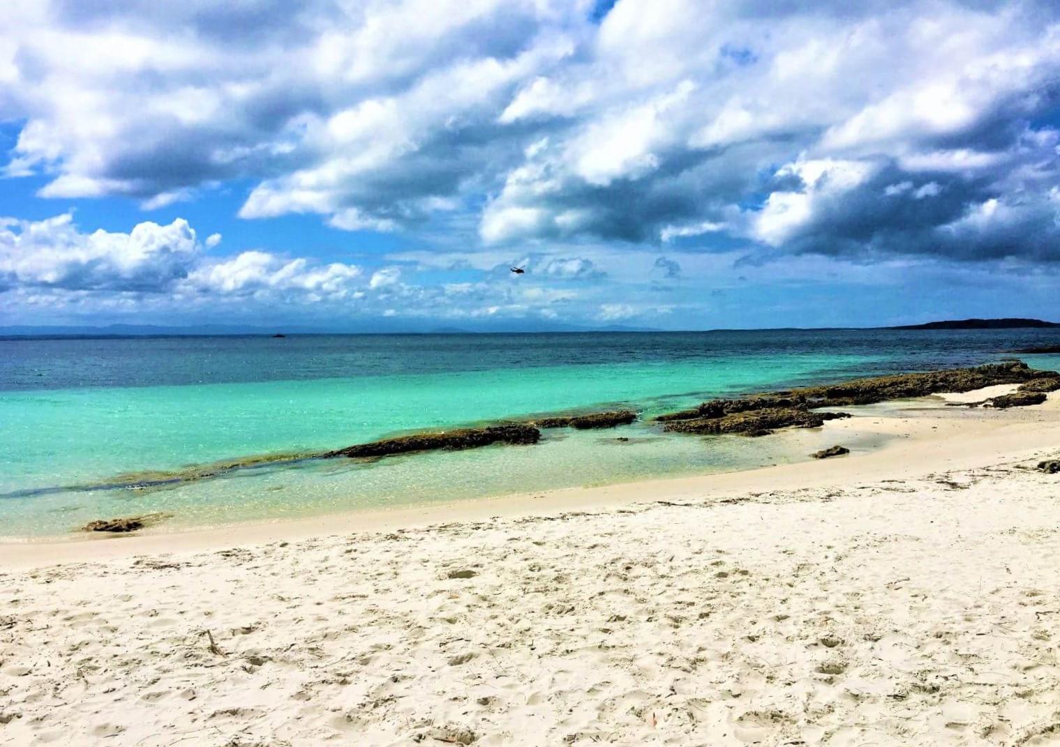 Strand im Booderee National Park in Australien