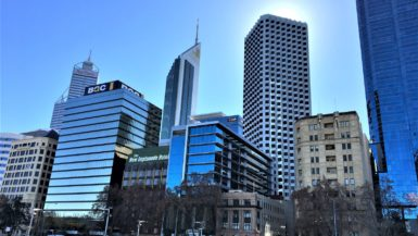Perth in Australien - Skyline