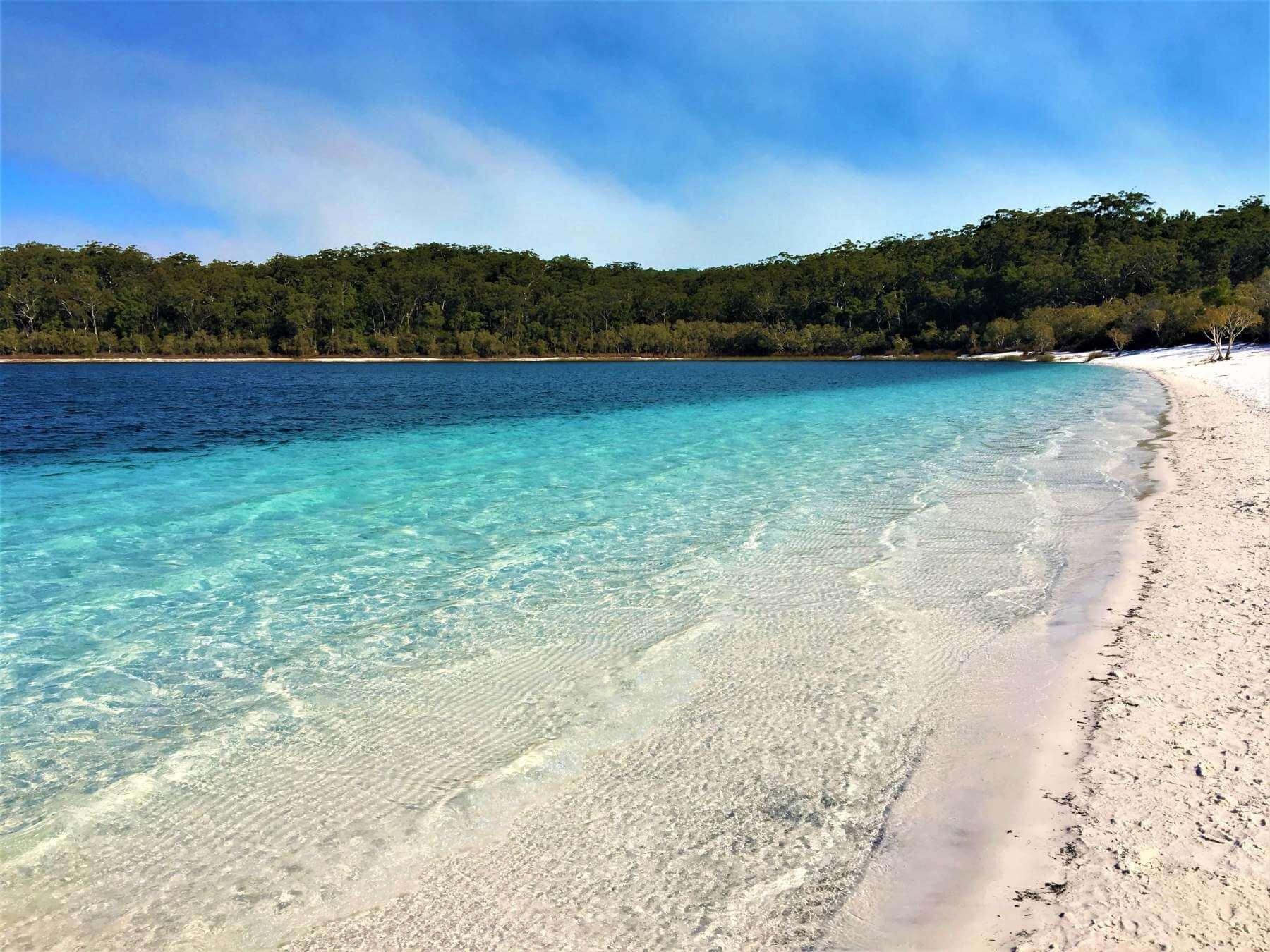 See Lake Mckenzie auf Fraser Island