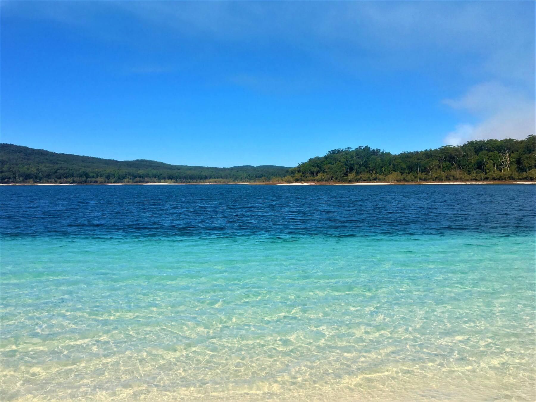 Lake Mckenzie auf Fraser Island in Australien