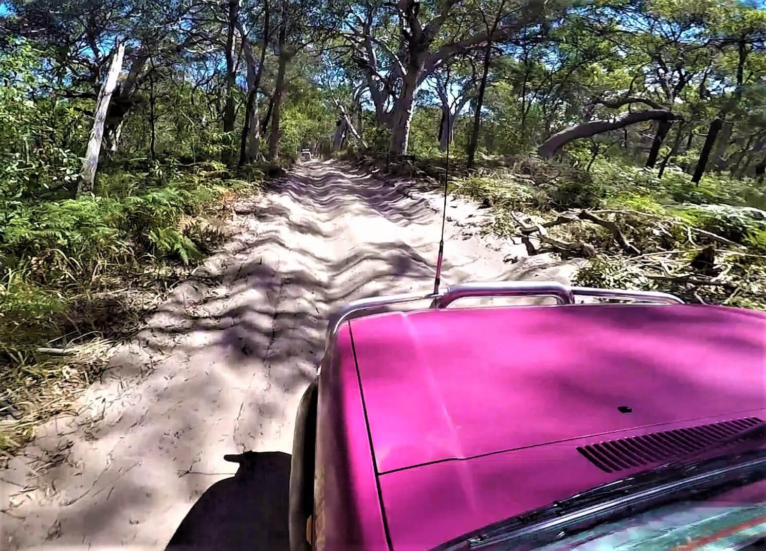 4WD fahren auf Sand in Australien
