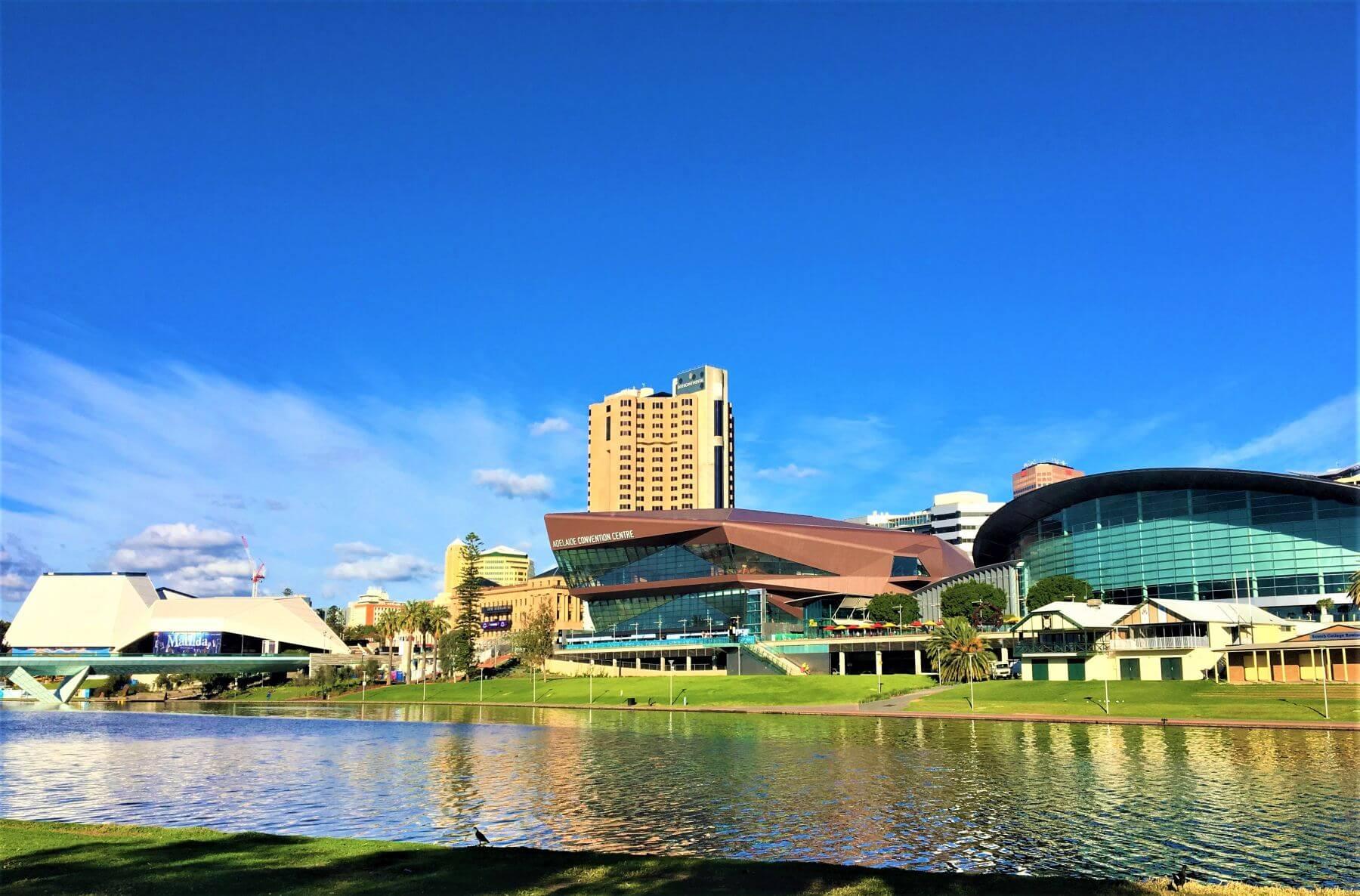 Skyline von Adelaide - Australien