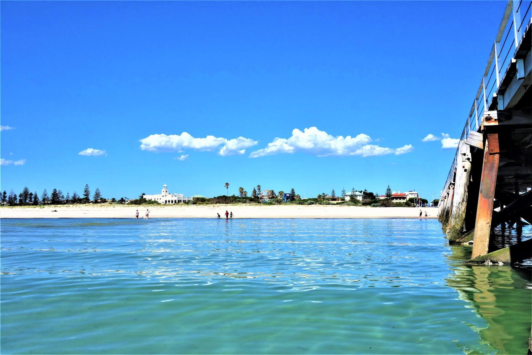 Adelaide Sehenswürdigkeiten - Semaphore Beach