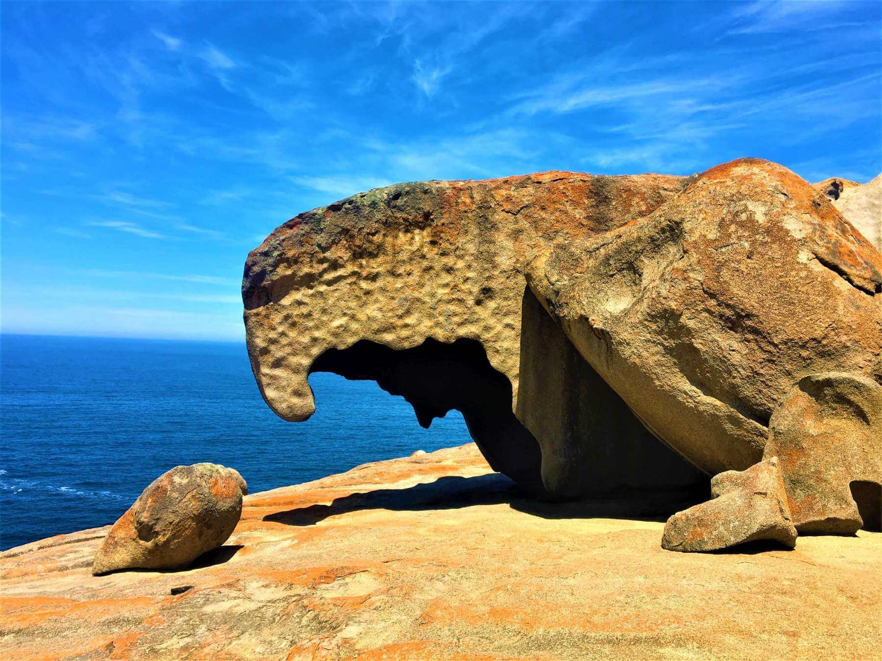 Adlerfelsen - Sehenswürdigkeit auf Kangaroo Island