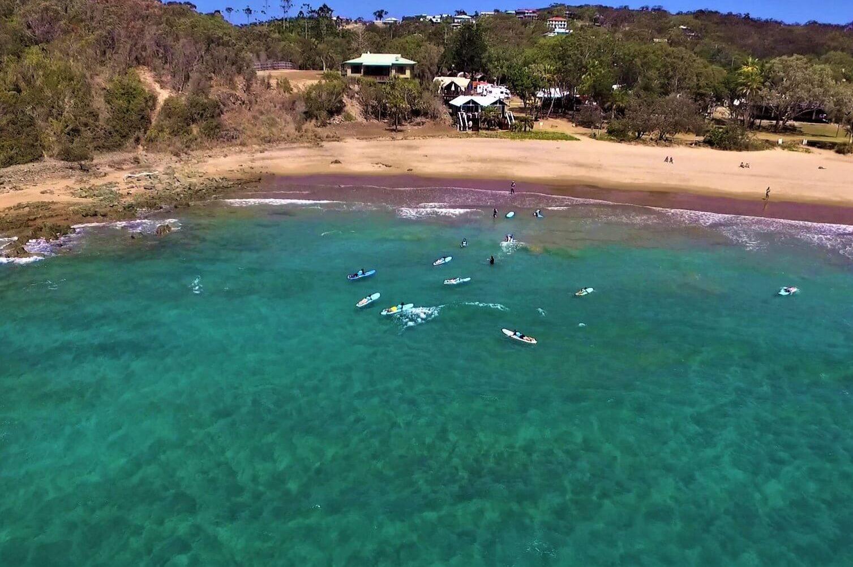 Surfen in Agnes Water in Australien