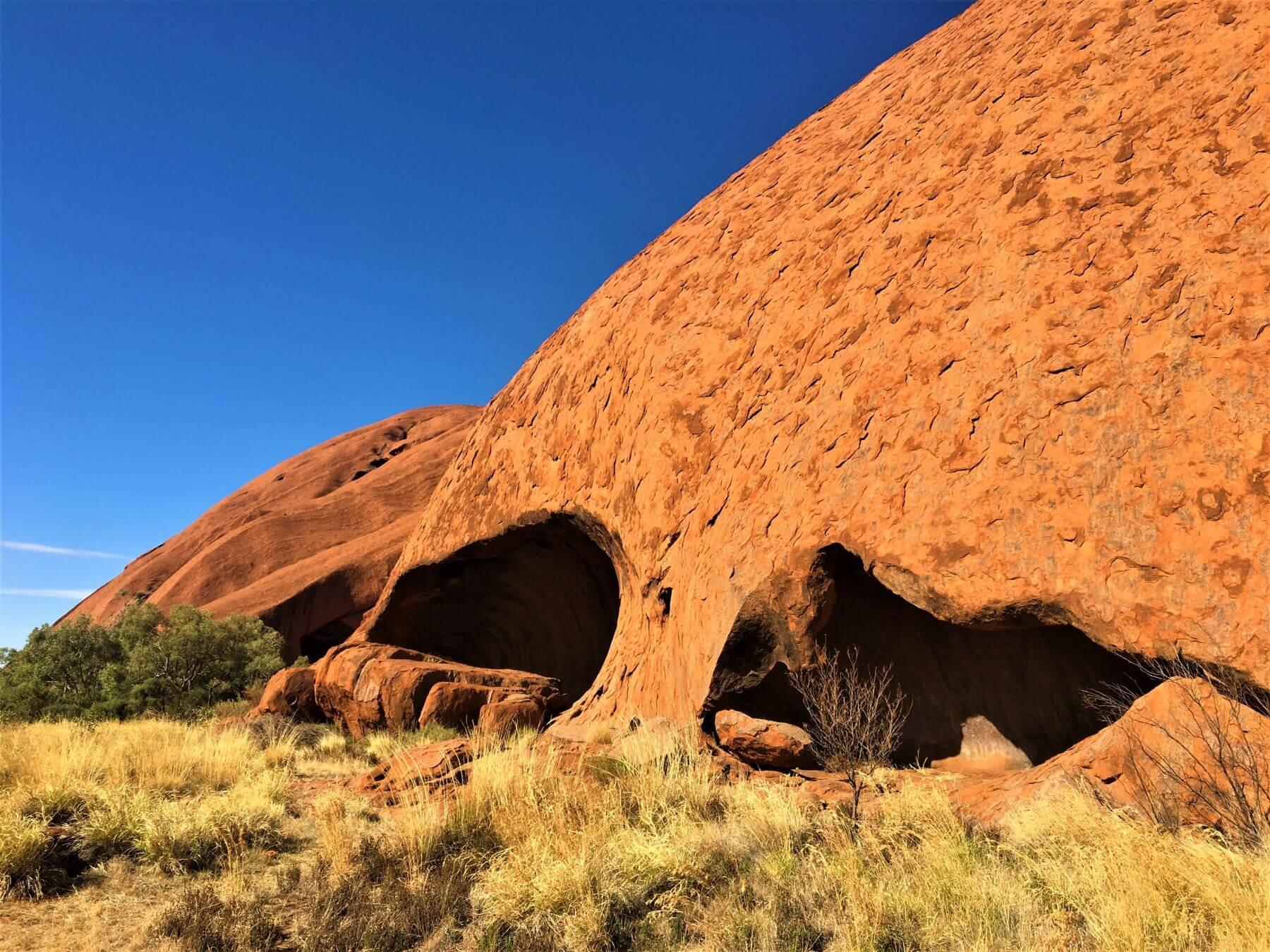 Roter Felsen Aires Rock - Uluru in Australien