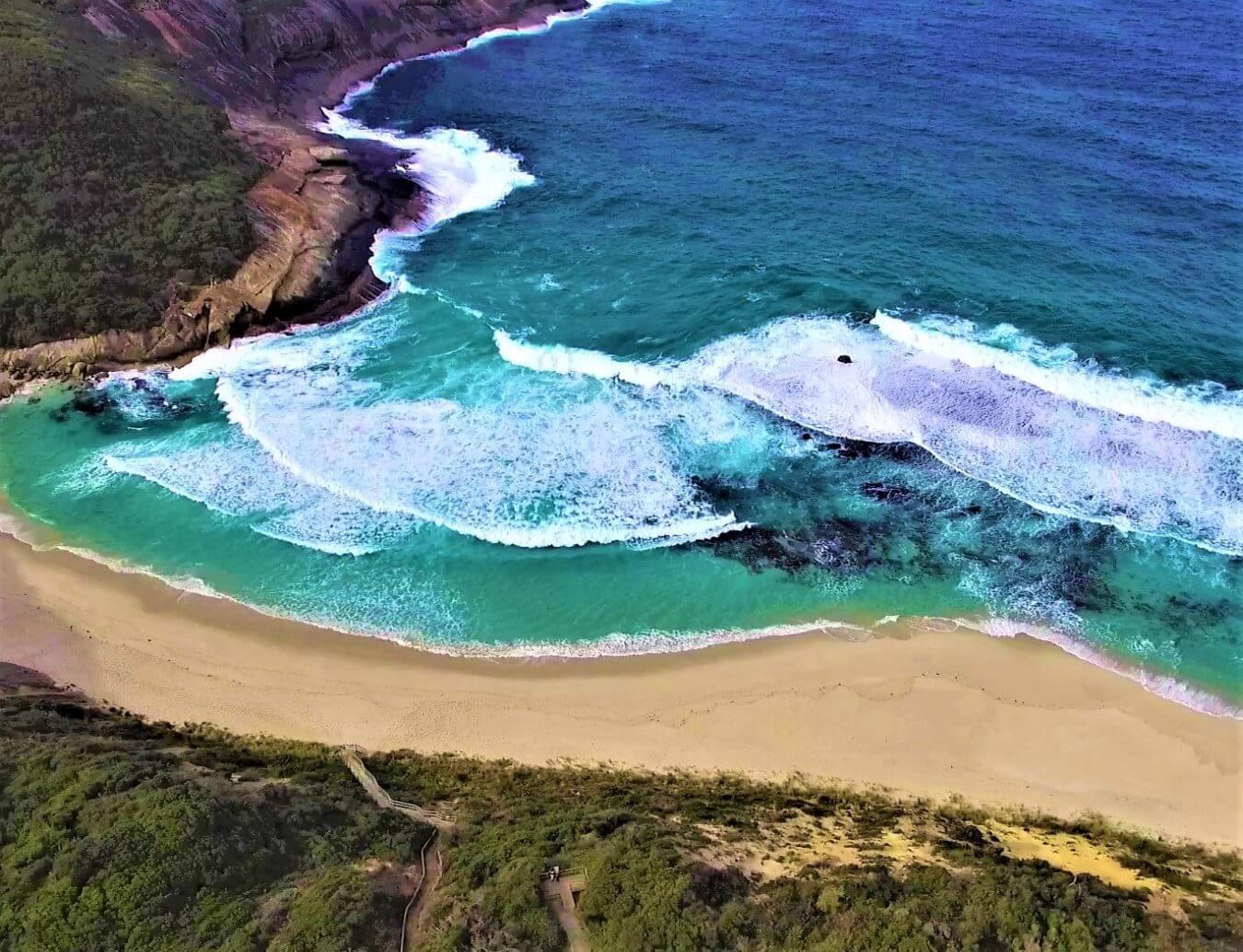 Bucht bei Albany in Australien