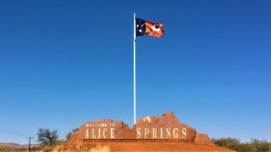 Alice Springs in Australien