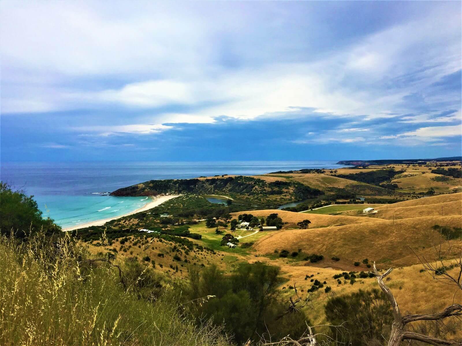 Ausblick auf Känguru Insel in Australien