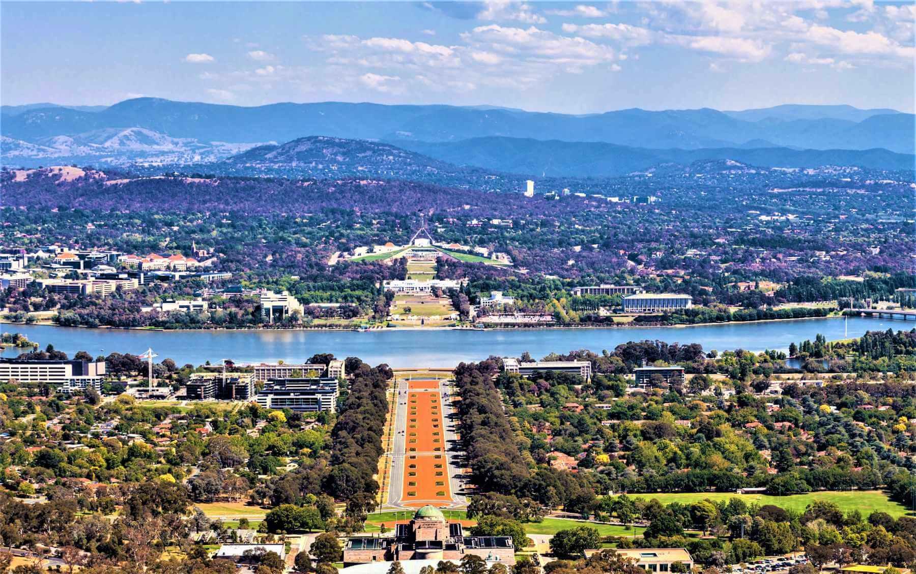 Australien - Blick auf Canberra