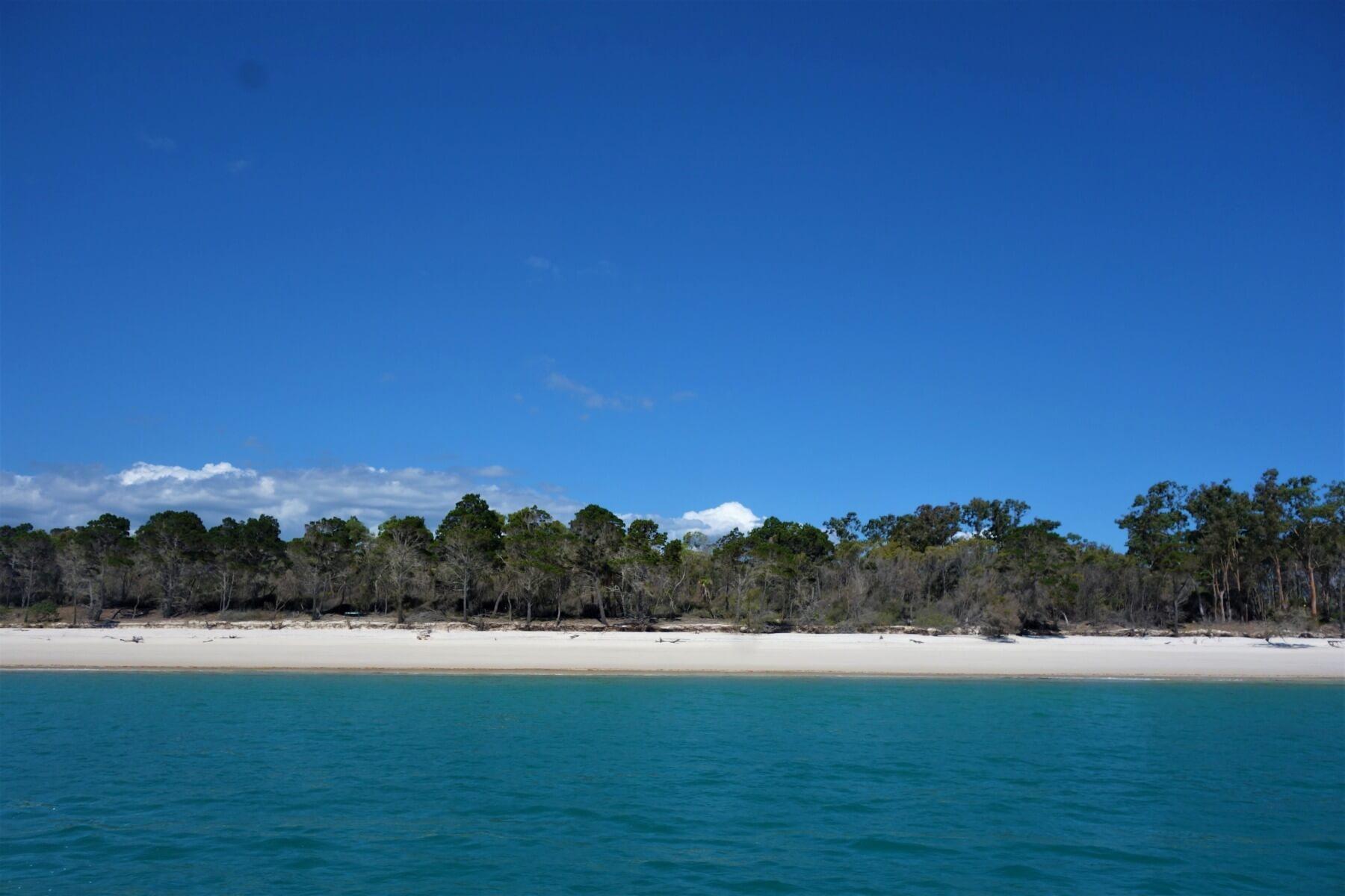 Blick auf Fraser Island - Australien Sehenswürdigkeiten