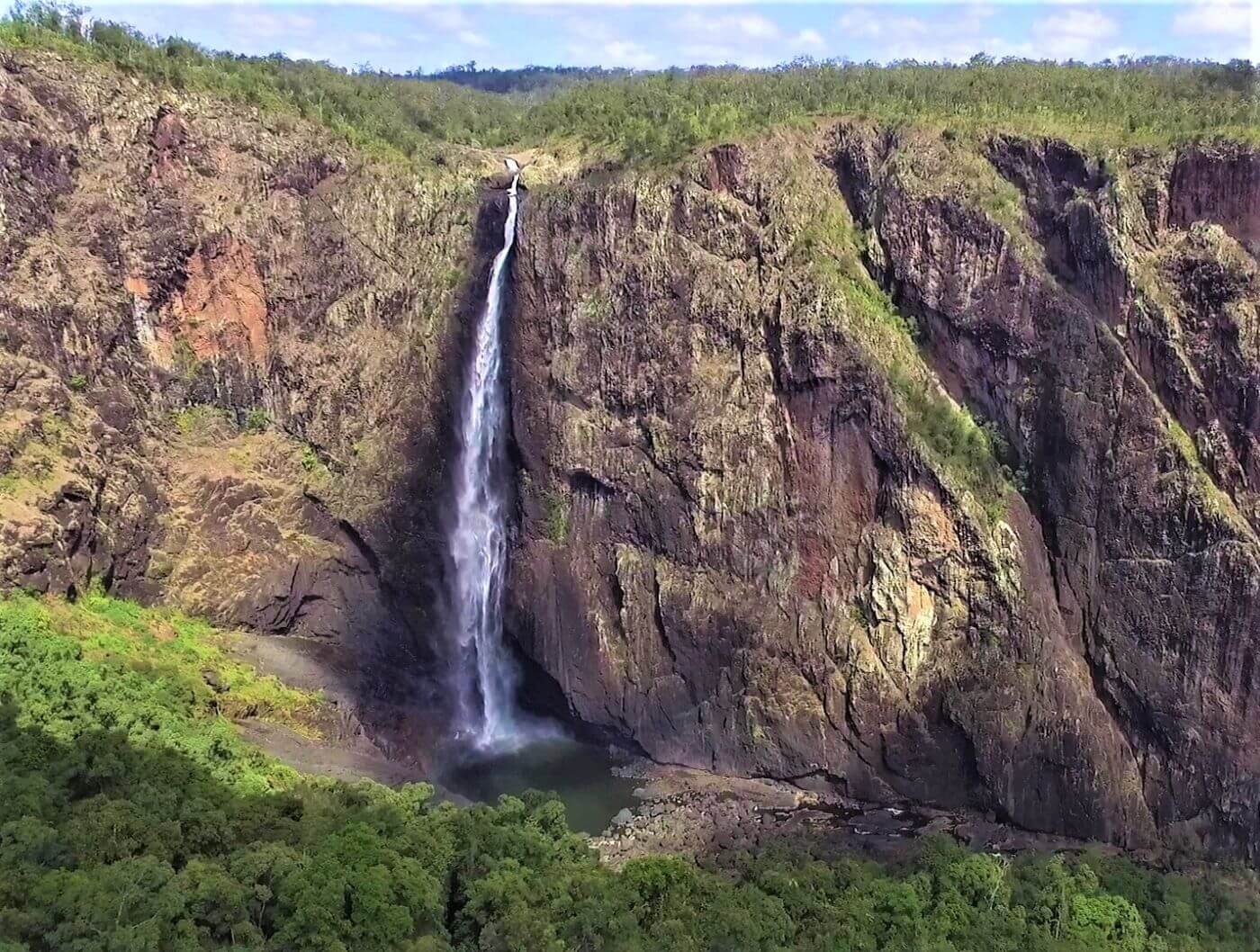 Australien Wasserfall - Wallaman Falls