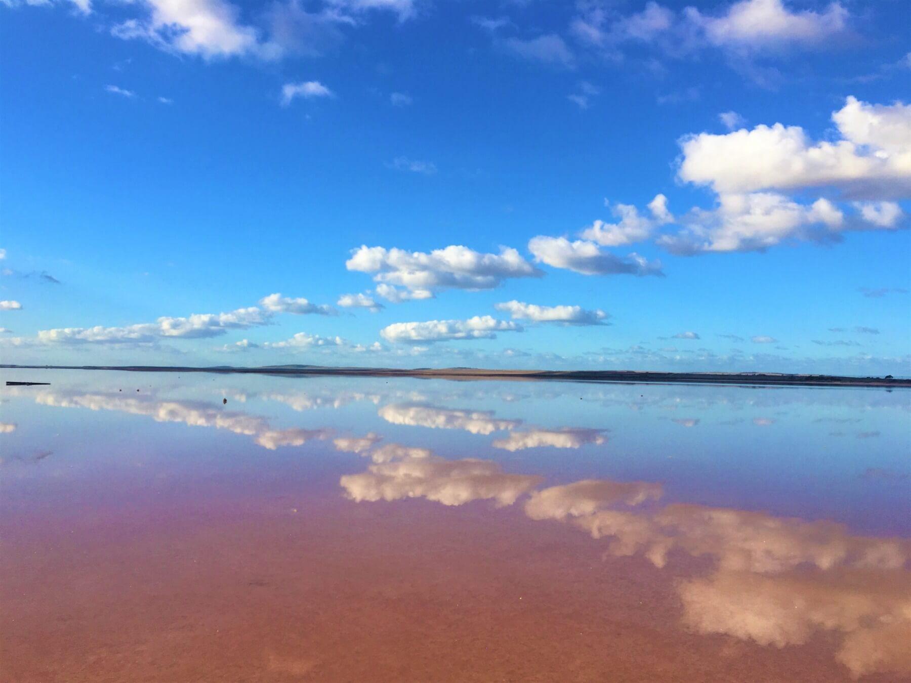 Australien - Rosa See Lake Bumbunga