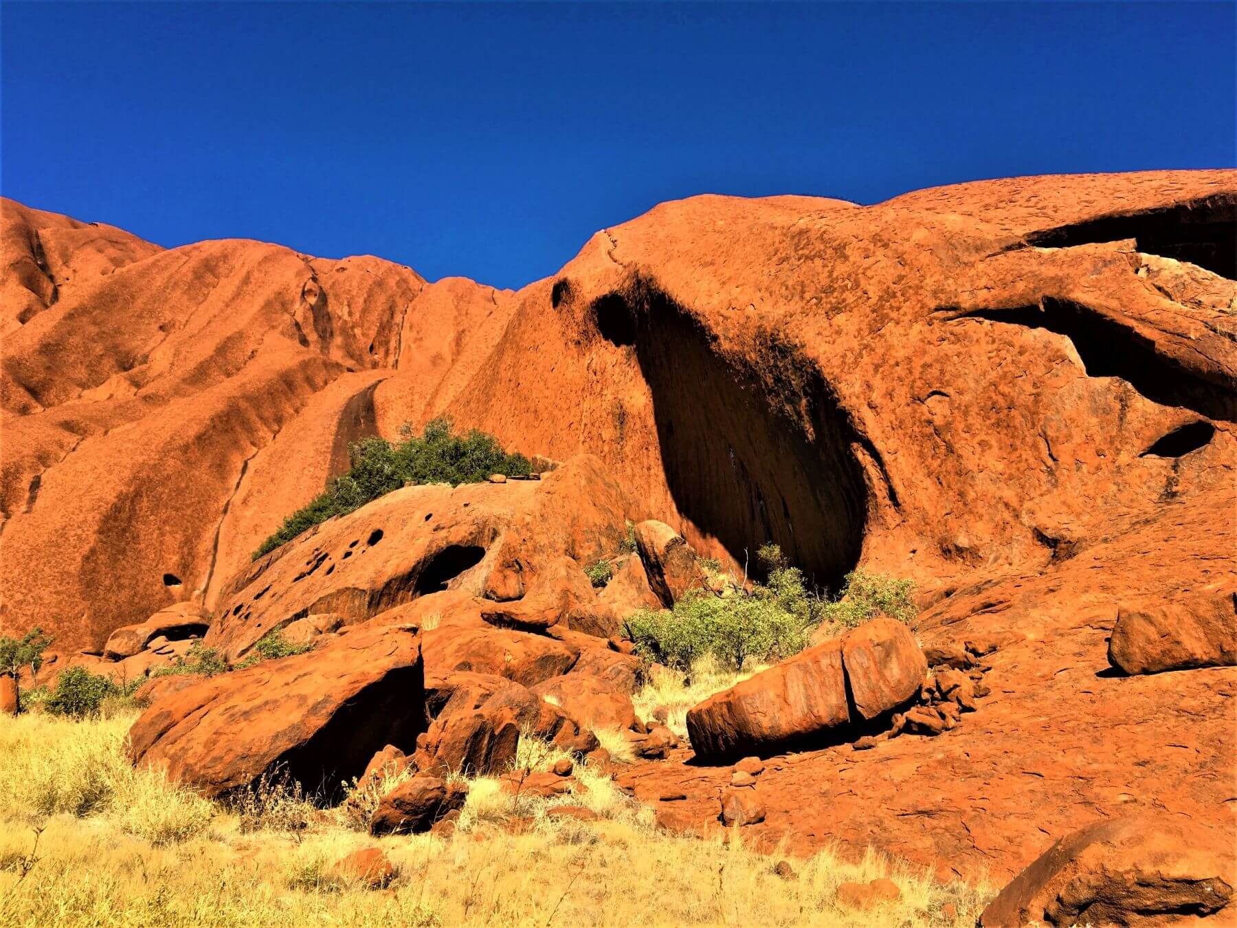 Roter Berg bei Alice Springs in Australien