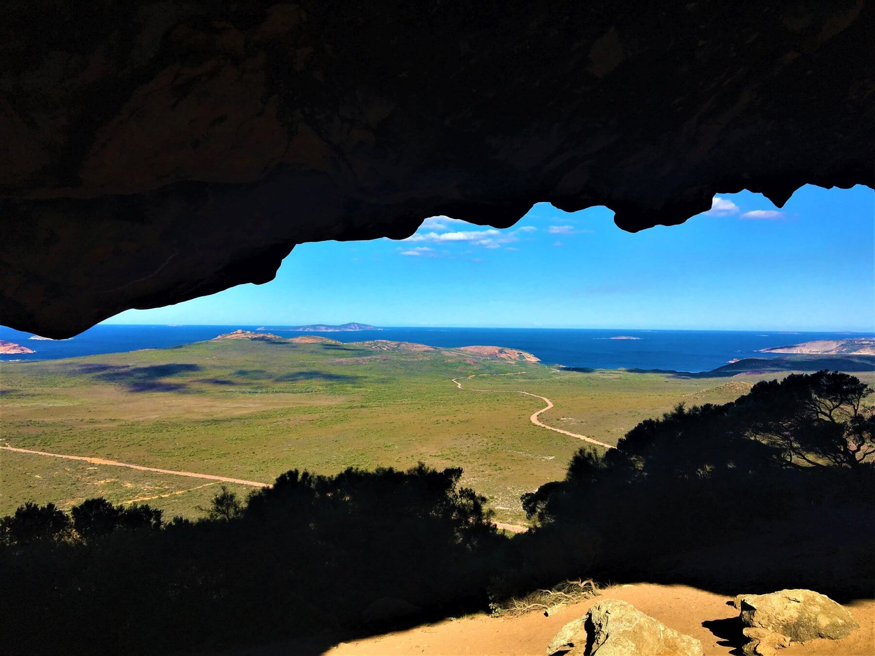 Berg bei Esperance in Australien