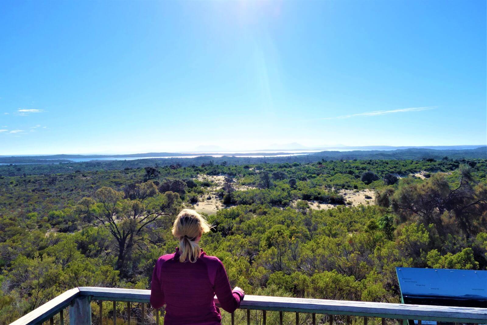 Blick auf Coffin Bay National Park