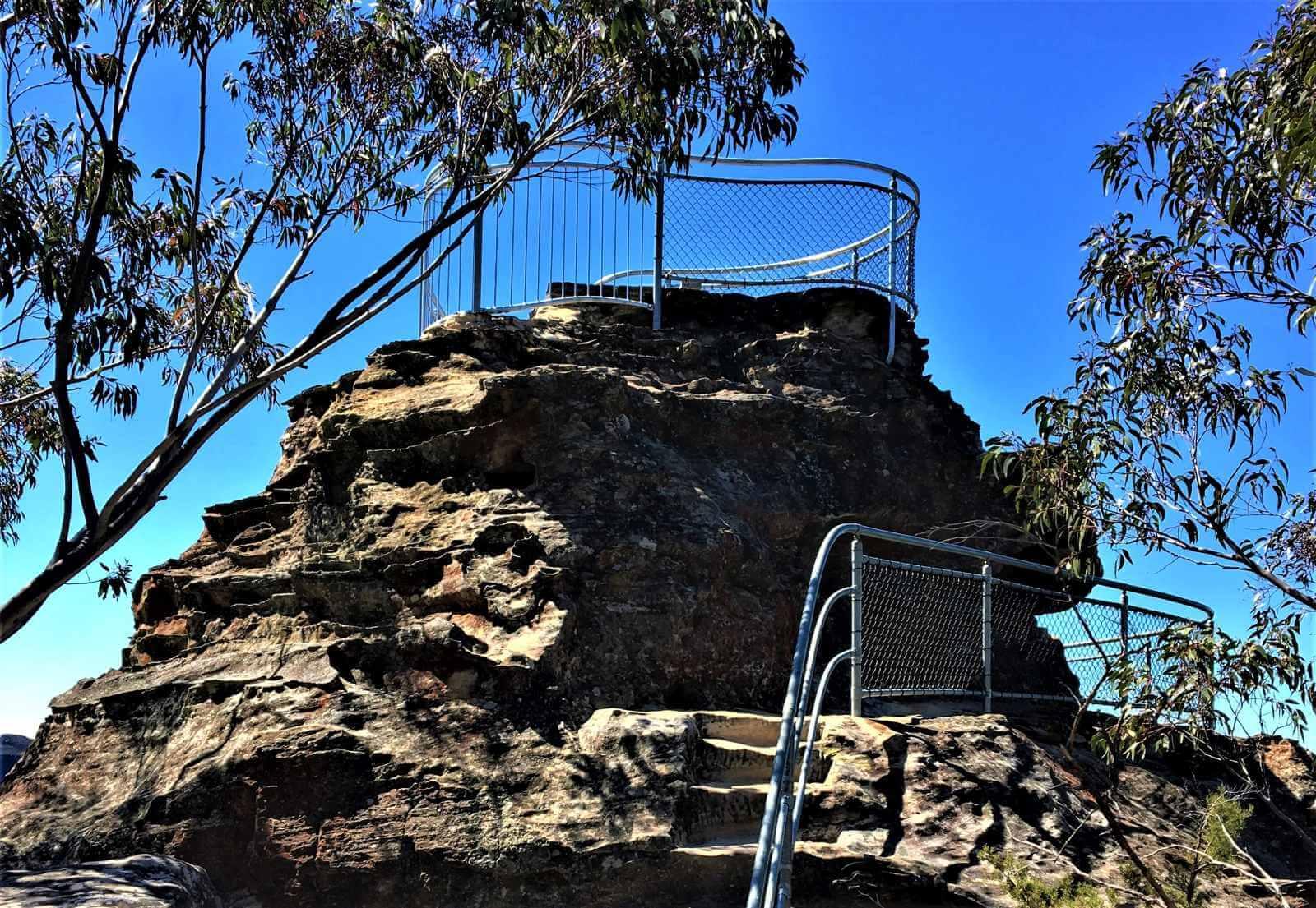 Felsen in den Blue Mountains bei Sydney