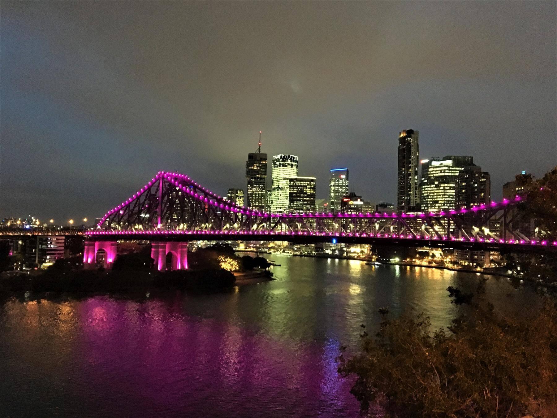 Sehenswürdigkeiten in Brisbane - Story Bridge