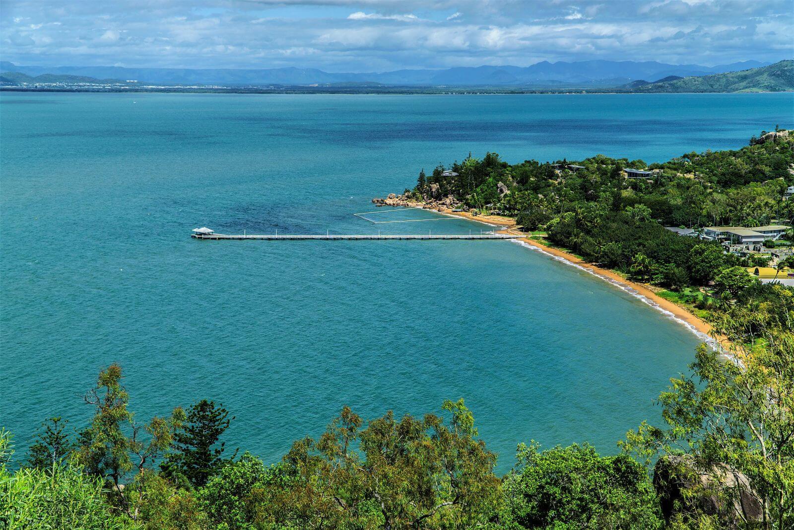 Bucht auf Magnetic Island in Australien