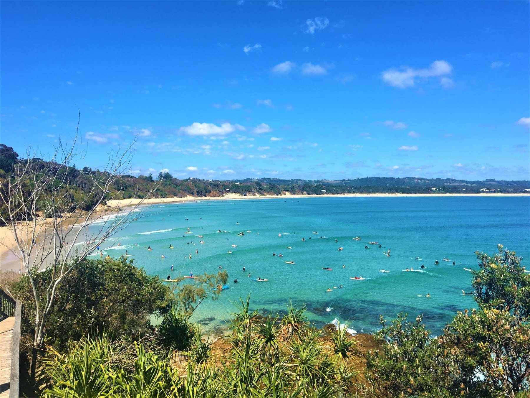 Bucht in Byron Bay - Australien