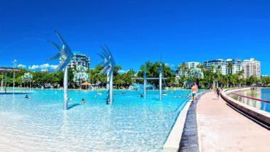 Promenade am Meer - Die Esplanade von Cairns