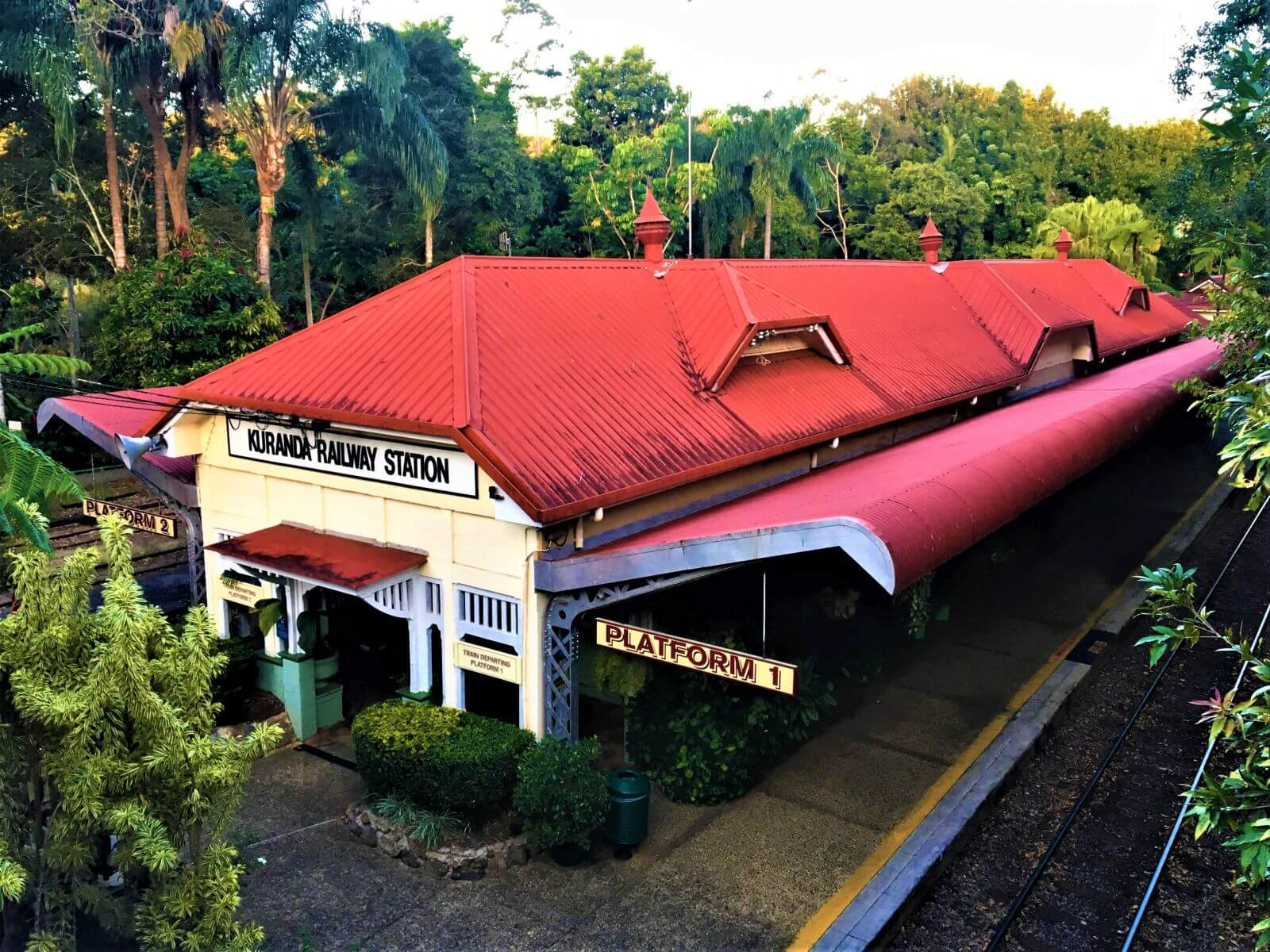 Kuranda Bahnhof bei Cairns