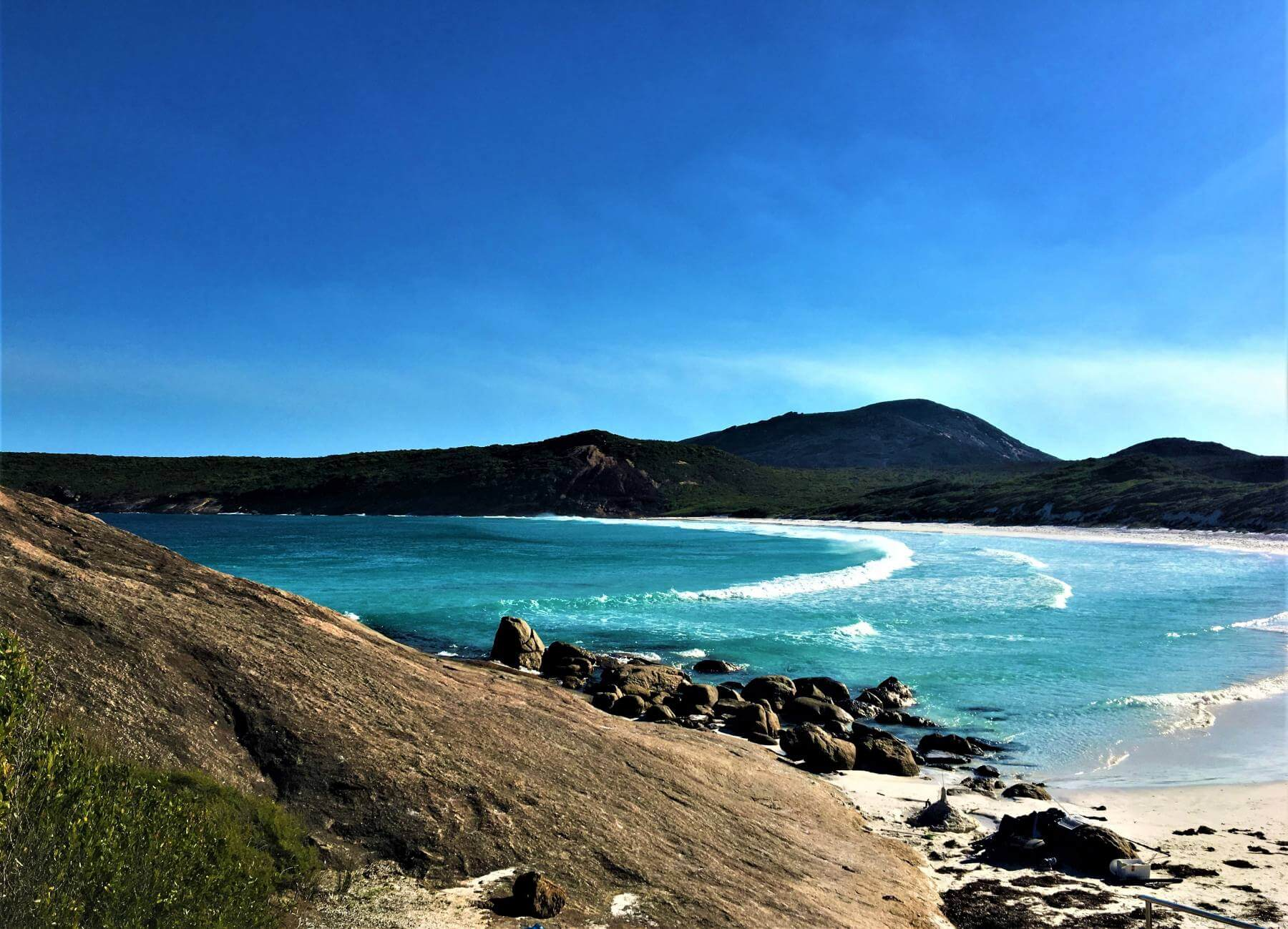 Hellfire Bay im Cape Le Grand Nationalpark bei Esperance