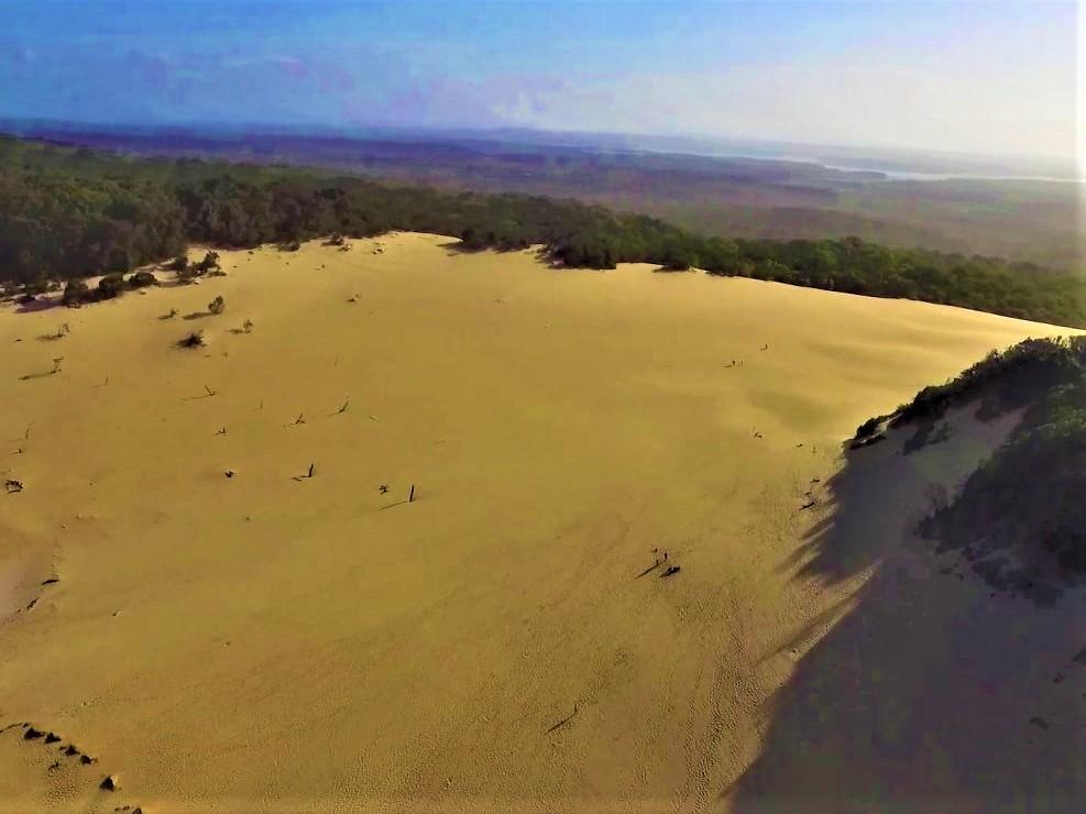 Sanddüne Carlo Sand Blow in Australien