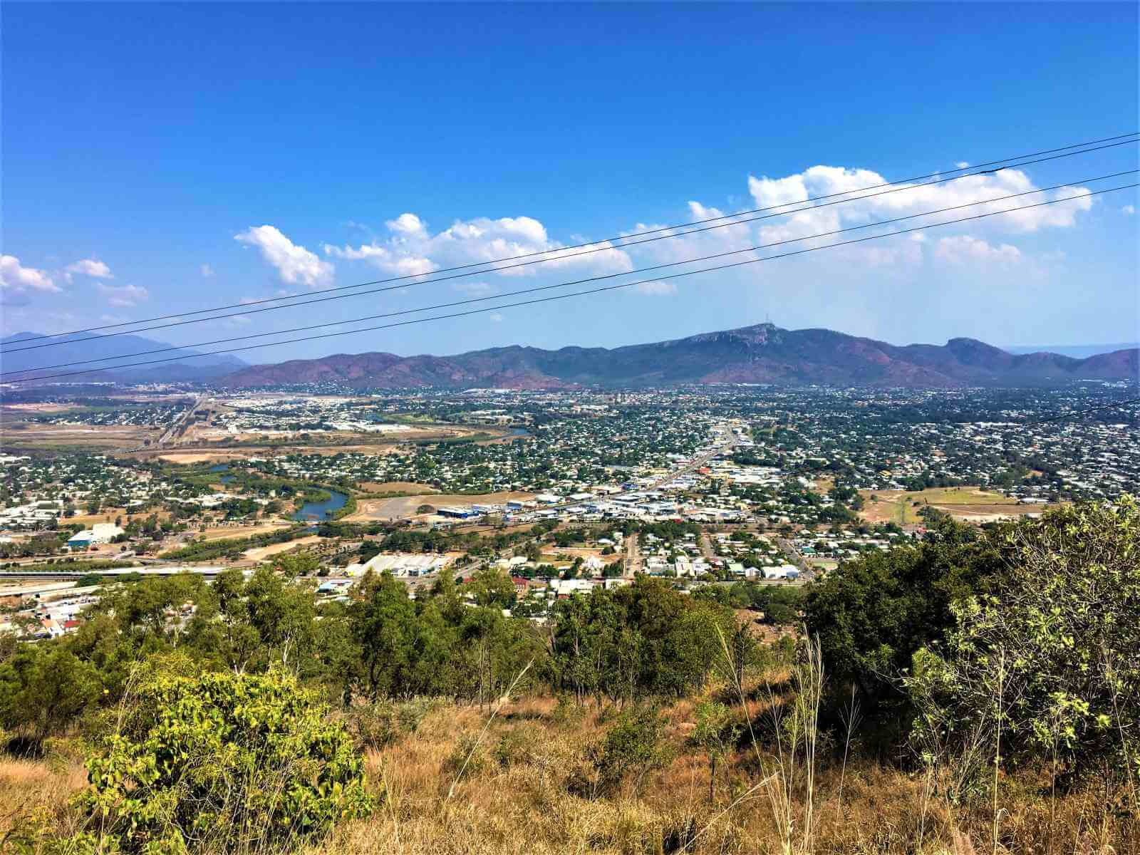 Aussicht vom Castle Hill Lookout in Townsville