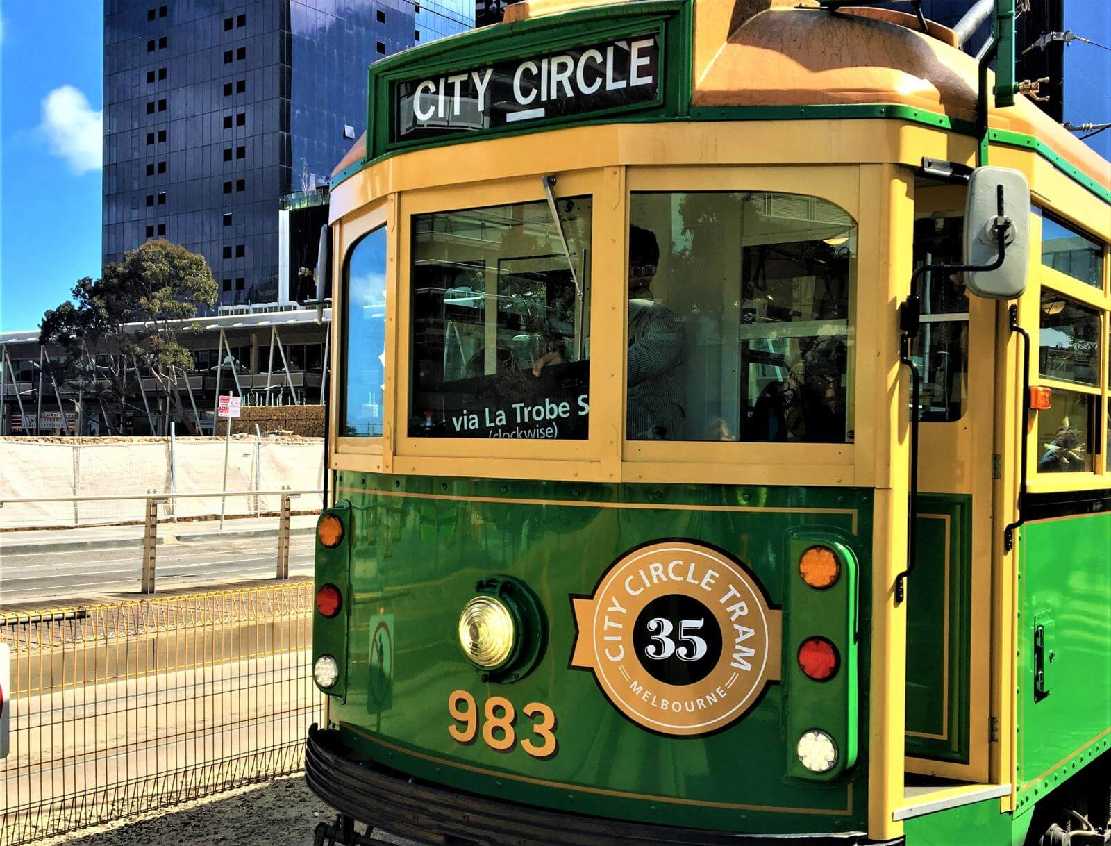 City-Tram in Melbourne