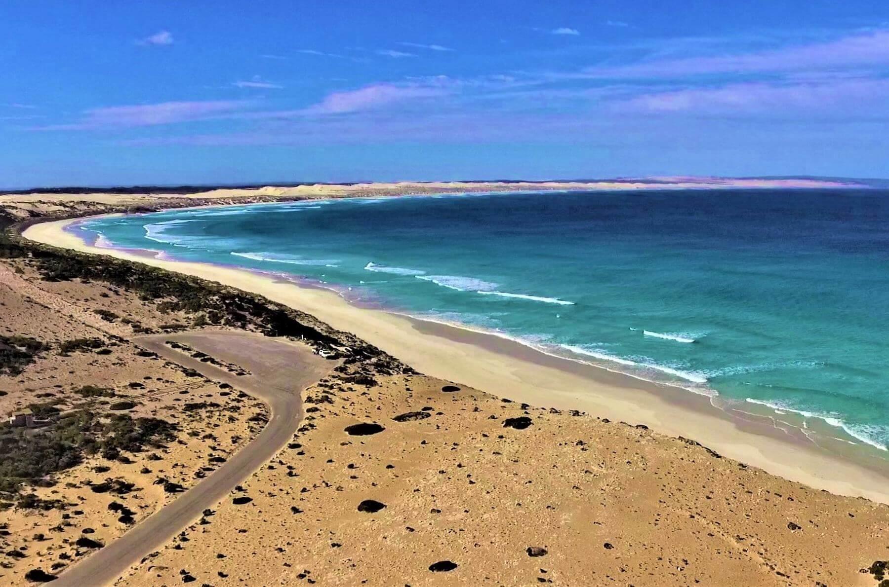 Strand im Coffin Bay National Park in Australien