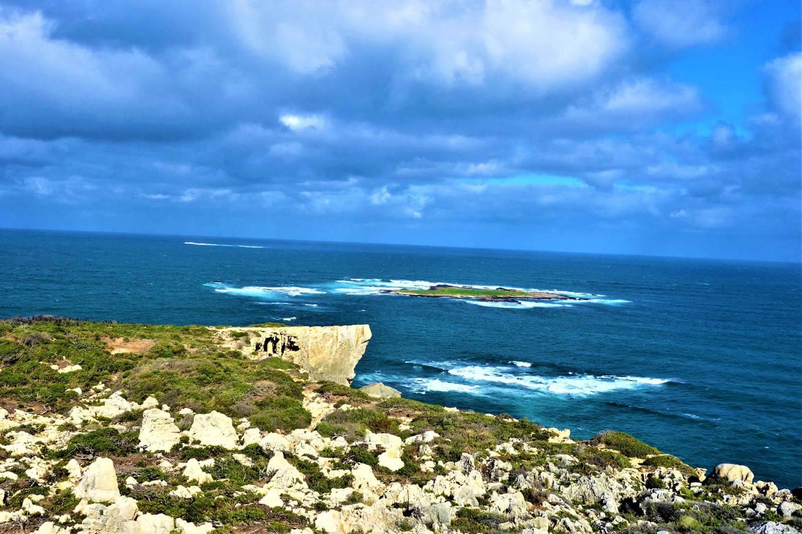 Blick auf D'Entrecasteaux National Park in Australien