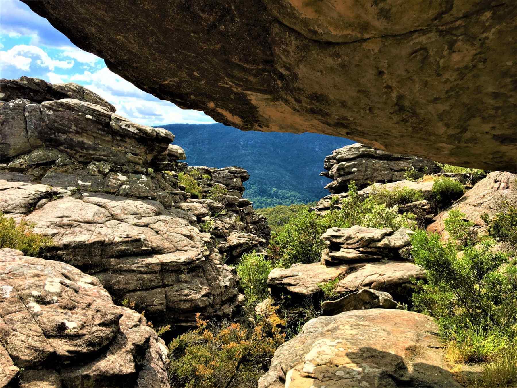 Felsen im Grampians National Park in Australien