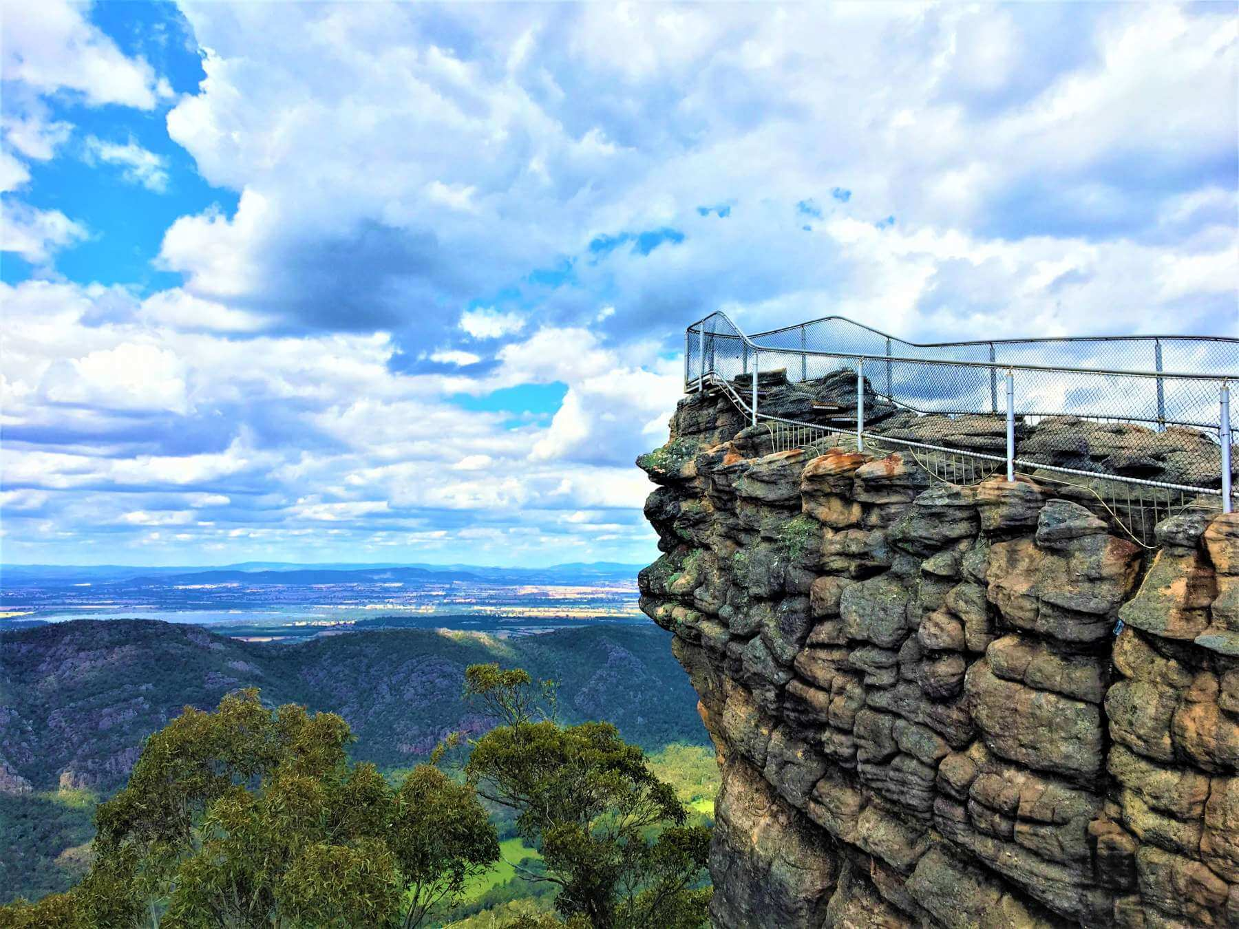 Grampians Nationalpark - Aussichtsfelsen Pinnacle