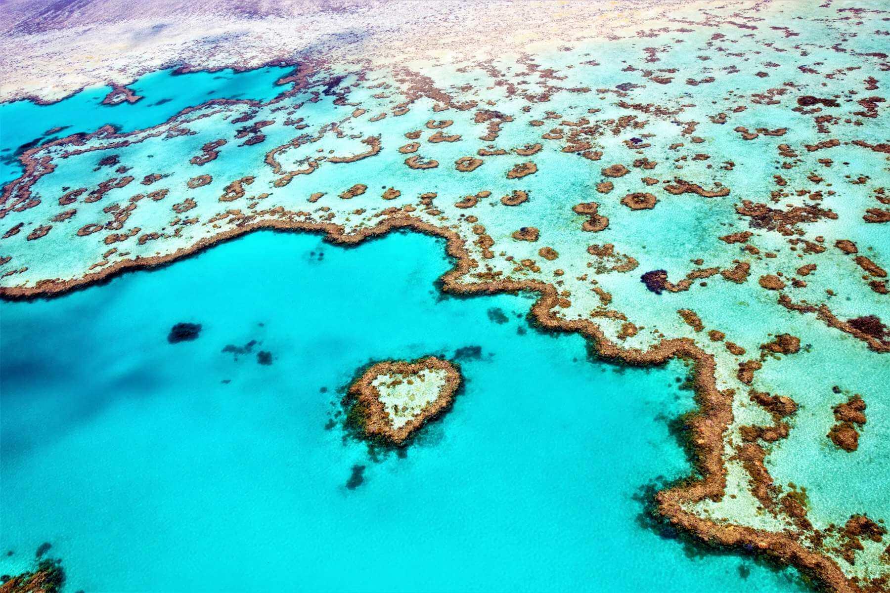 Heart Reef in Australien