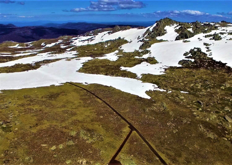 Höchster Berg in Australien - Mount Kosciuzsko