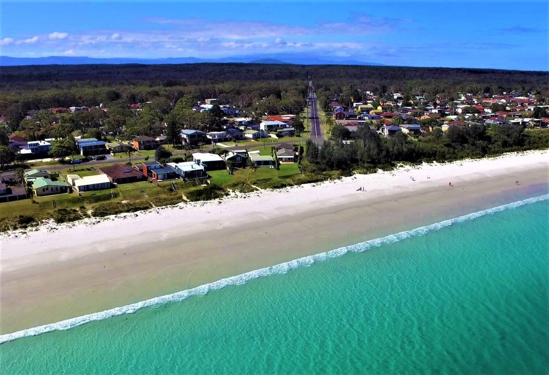 Hyams Beach in Australien
