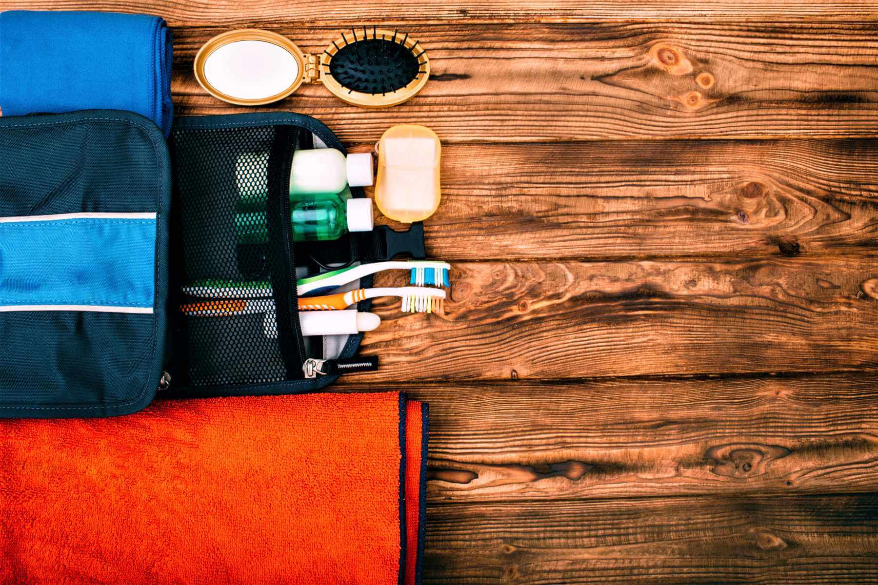 Hygieneartikel für Australien Packliste