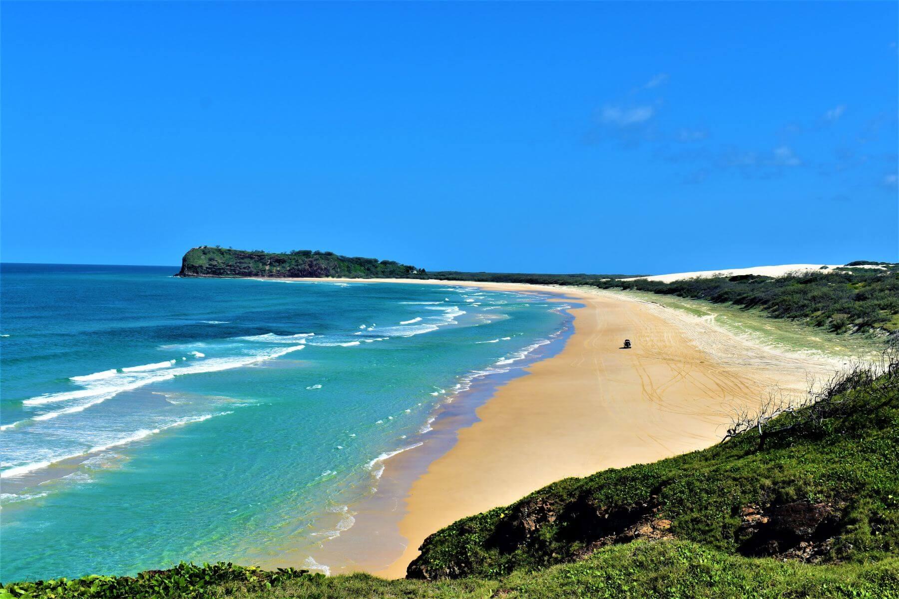 Bucht Indian Head auf Fraser Island