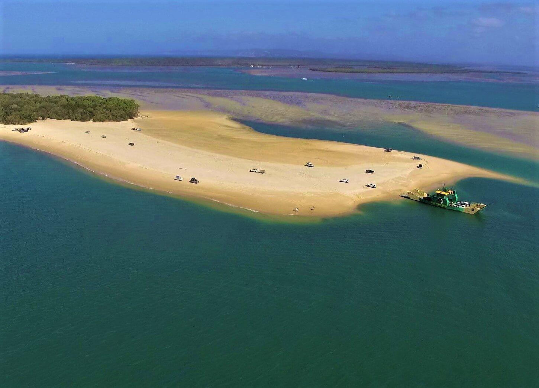 Inskip Point nach Fraser Island