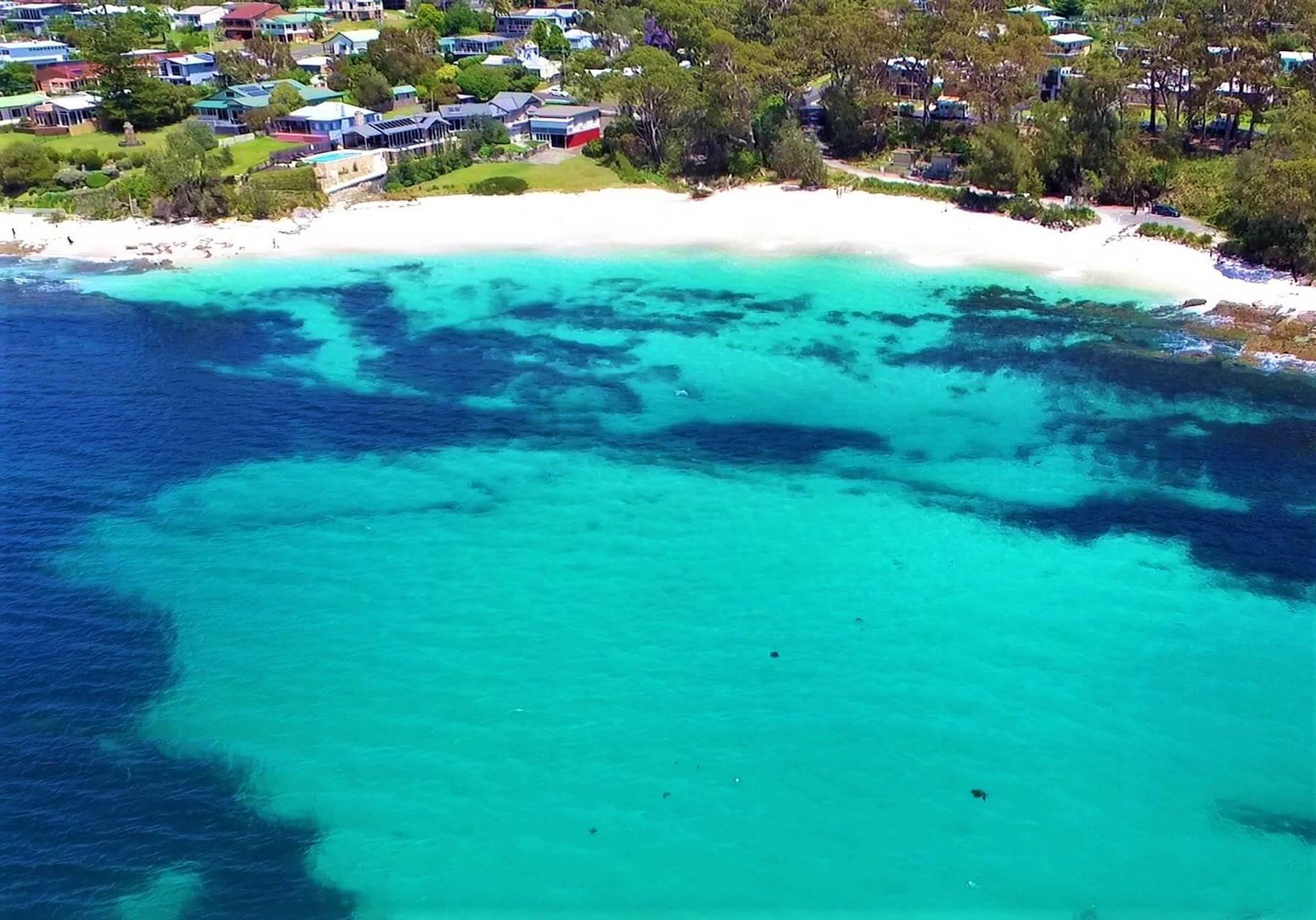Jervis Bay in Australien